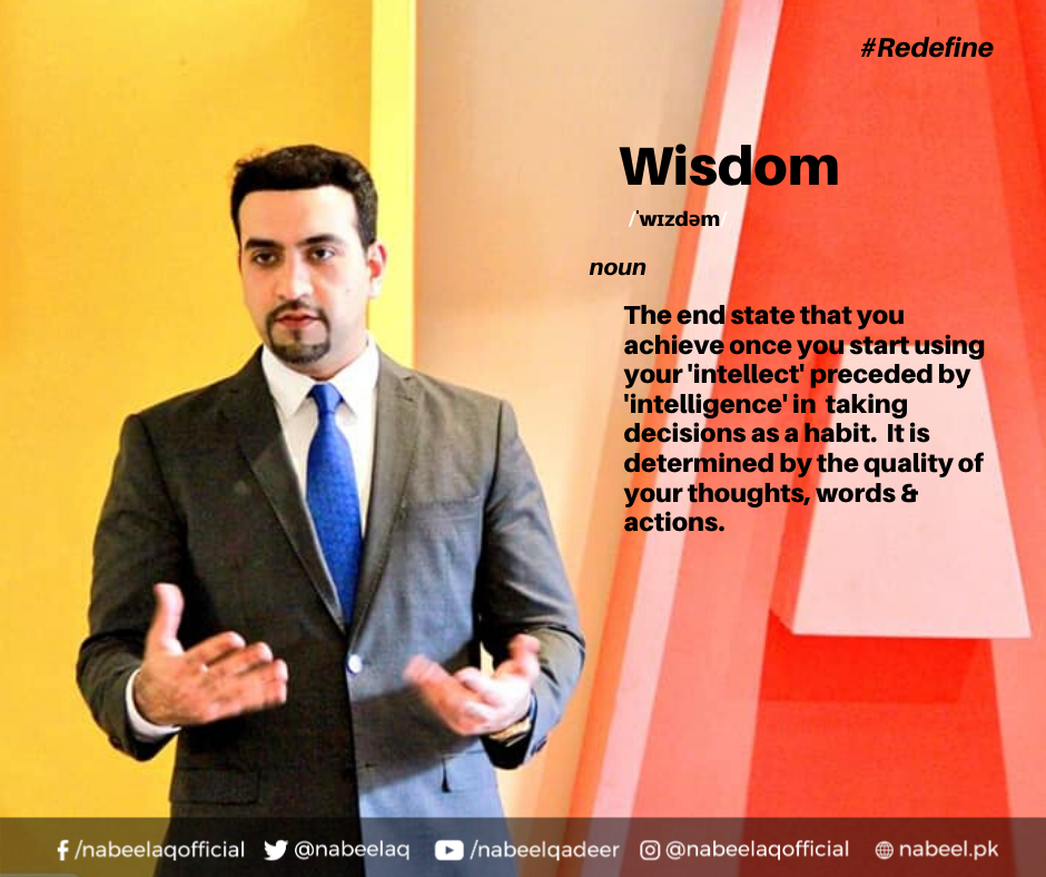 How to achieve wisdom, how to be a wise person, how to use my intelligence, Nabeel Qadeer, Who is Nabeel Qadeer, Nabeel Qadeer books, Nabeel Qadeer author, Nabeel Qadeer profession. Nabeel Qadeer articles, best books on leadership, best books on productivity, self-help books, how to find yourself, YOU, this book is about you, how to be effective
